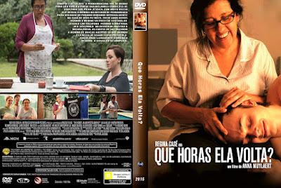 Filme Que Horas Ela Volta? DVD Capa