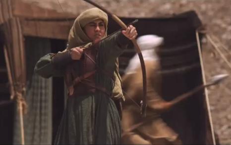 Nusayba b. Ka'b as depicted in the MBC TV Series 'Umar'