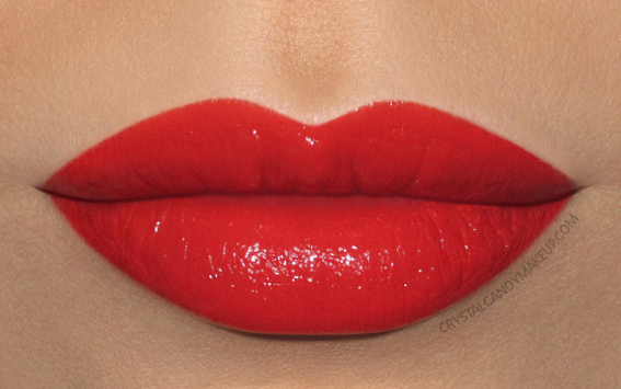MAC Liptensity Lipstick Swatch Habanero