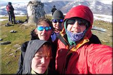 Oketa mendiaren gailurra 1.031 m. -- 2017ko abenduaren 6an