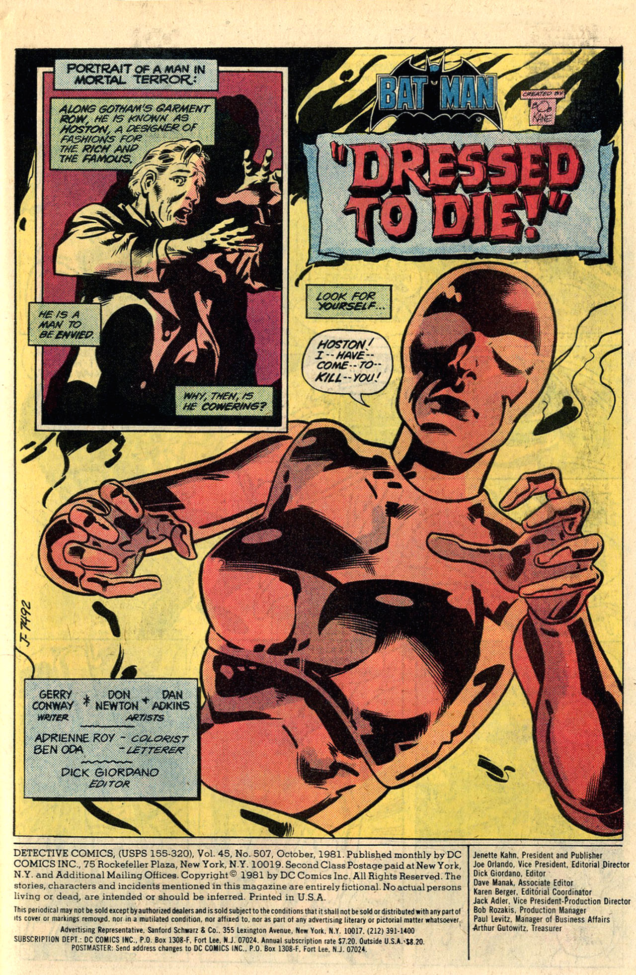 Detective Comics (1937) 507 Page 2