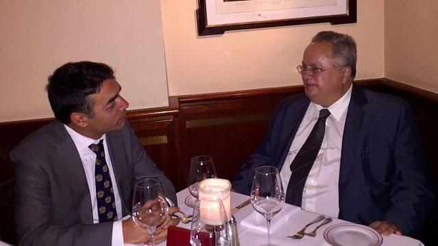 Dimitrov and Kotzias met in New York