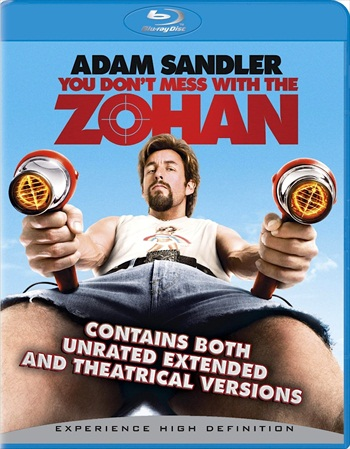 You Dont Mess With The Zohan 2008 Hindi Dubbed 480p BluRay 300mb