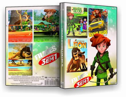 CAPA DVD – Coleção Infantil 3×1 Vol.10 – ISO