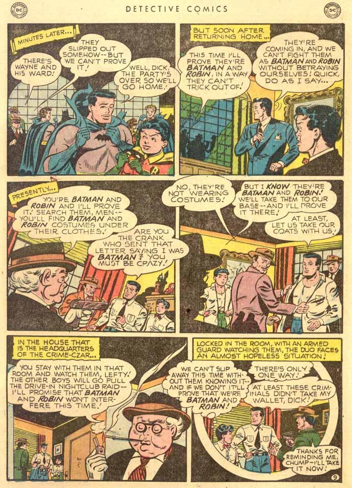 Detective Comics (1937) 159 Page 10