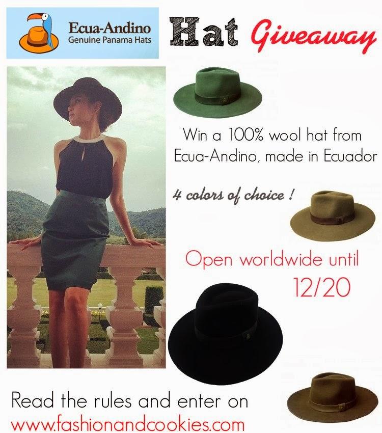 Ecua-Andino Hat Giveaway 4feb640640ff