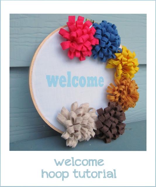 welcome hoop