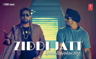 ZIDDI JATT LYRICS: A latest punjabi song in the voice of Geeta Zaildar featuring by Kunwar Virk. Composed by Kunwar Virk while lyrics is penned by Geeta Zaildar.  Geeta Zaildar and Kunwar Virk starring in the video in the direction of Rimpy Prince.