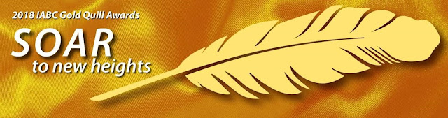 IABC Golden Quill Award Banner