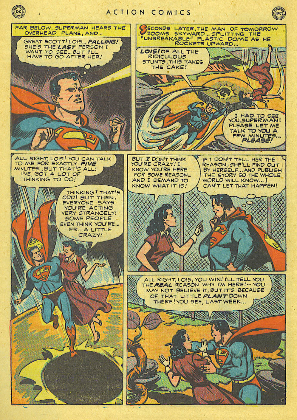 Read online Action Comics (1938) comic -  Issue #140 - 10
