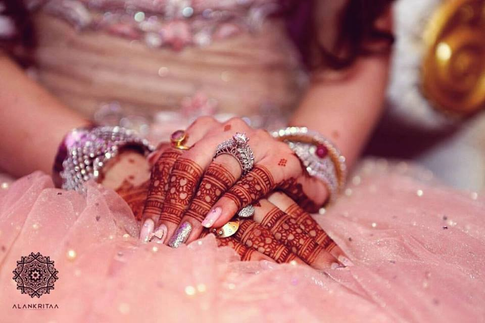 Bridal Henna Ring Mehndi Designs For Fingers