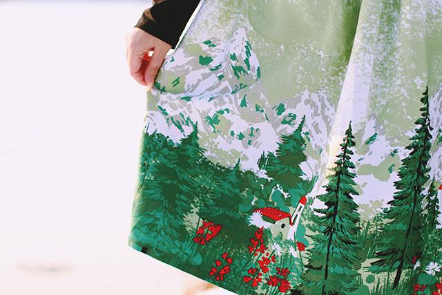 LindyBop Adaline Alpine Skirt
