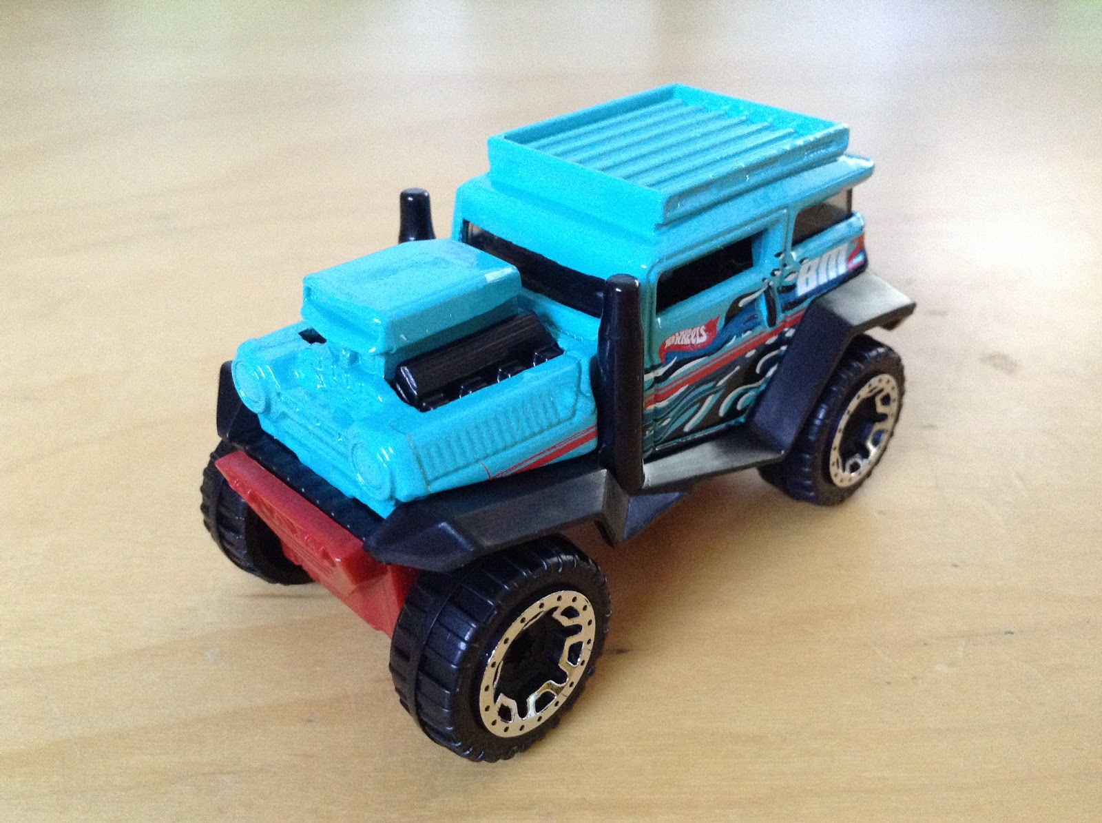 JULIANS HOT WHEELS BLOG: Bad Mudder 2 (2016 HW Hot Trucks)