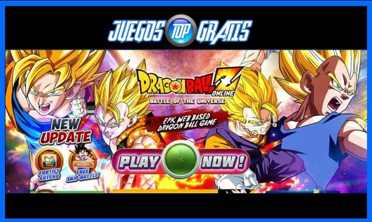 Descargar Juego Dragon Ball Z Online Juegos Para Pc Juegosgratistop