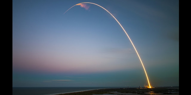 Rocket launch. Photo credit Pixabay
