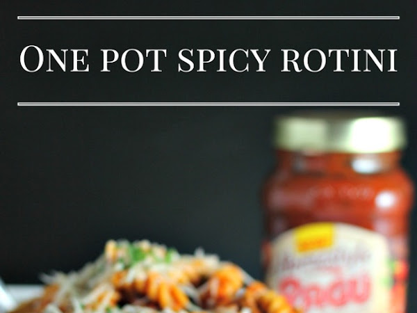 One Pot Spicy Rotini Pasta