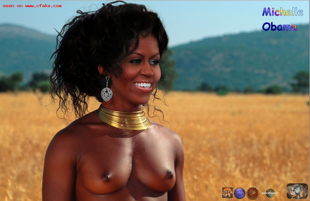 michelle obama daughters naked