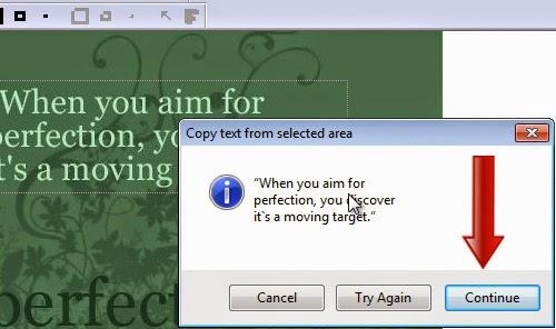 Copy Text