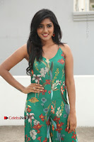 Actress Eesha Latest Pos in Green Floral Jumpsuit at Darshakudu Movie Teaser Launch .COM 0042.JPG