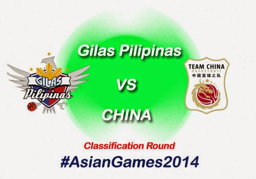 Gilas Pilipinas vs China Classification Game Results, Highlights & Video Replay