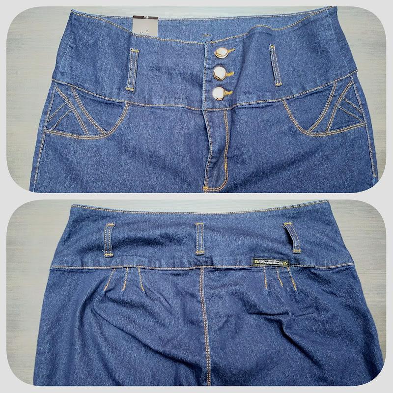 Pantalon Corte COlombiano Talla Extra levanta pompis