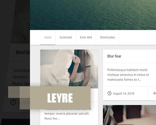 Leyre planttilla personal responsive blogger