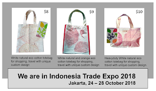 Tote bag ecoprint