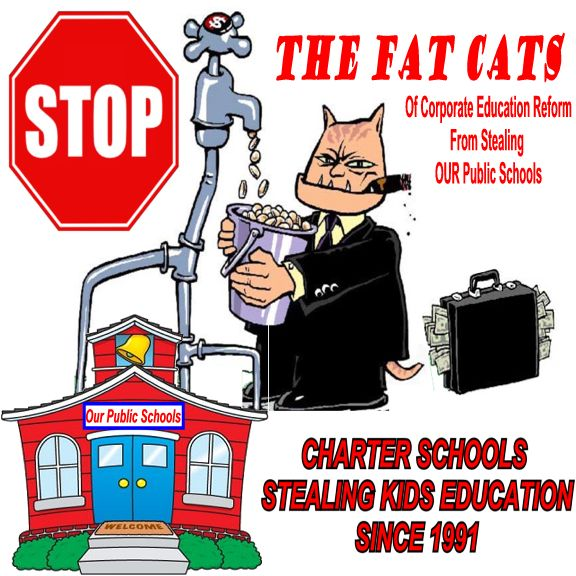 Image result for charter school steal from public education