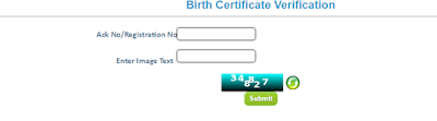 UP Birth Certificate Status Check