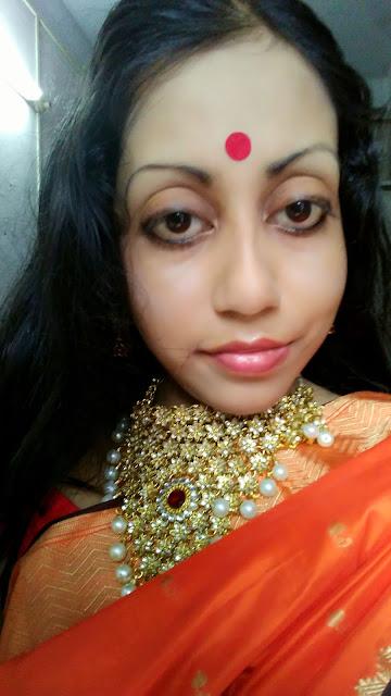 SoulTree Kajal worn as Eyeliner