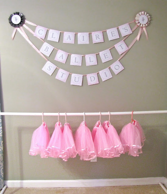 ballerina party tutu favors