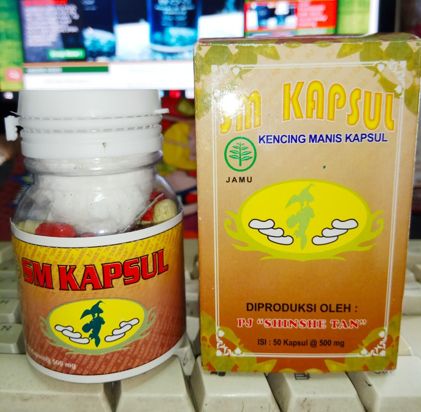 Jual SM Kapsul Kencing Manis/ Diabetes Pj. Shinshe Tan di Surabaya