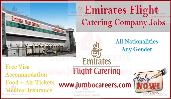 Emirates Flight Catering (EKFC) Jobs | Dubai Airport Careers 2020
