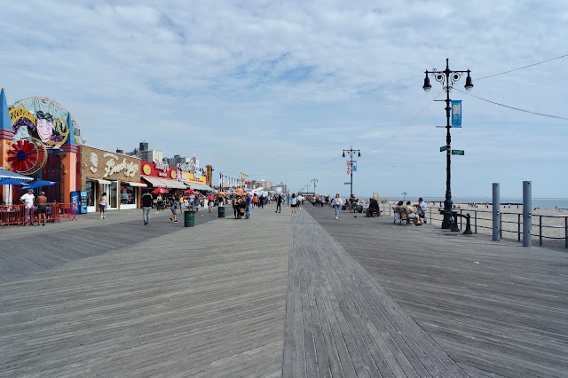 Coney Island, Brooklyn Boardwalk America Travel Blog