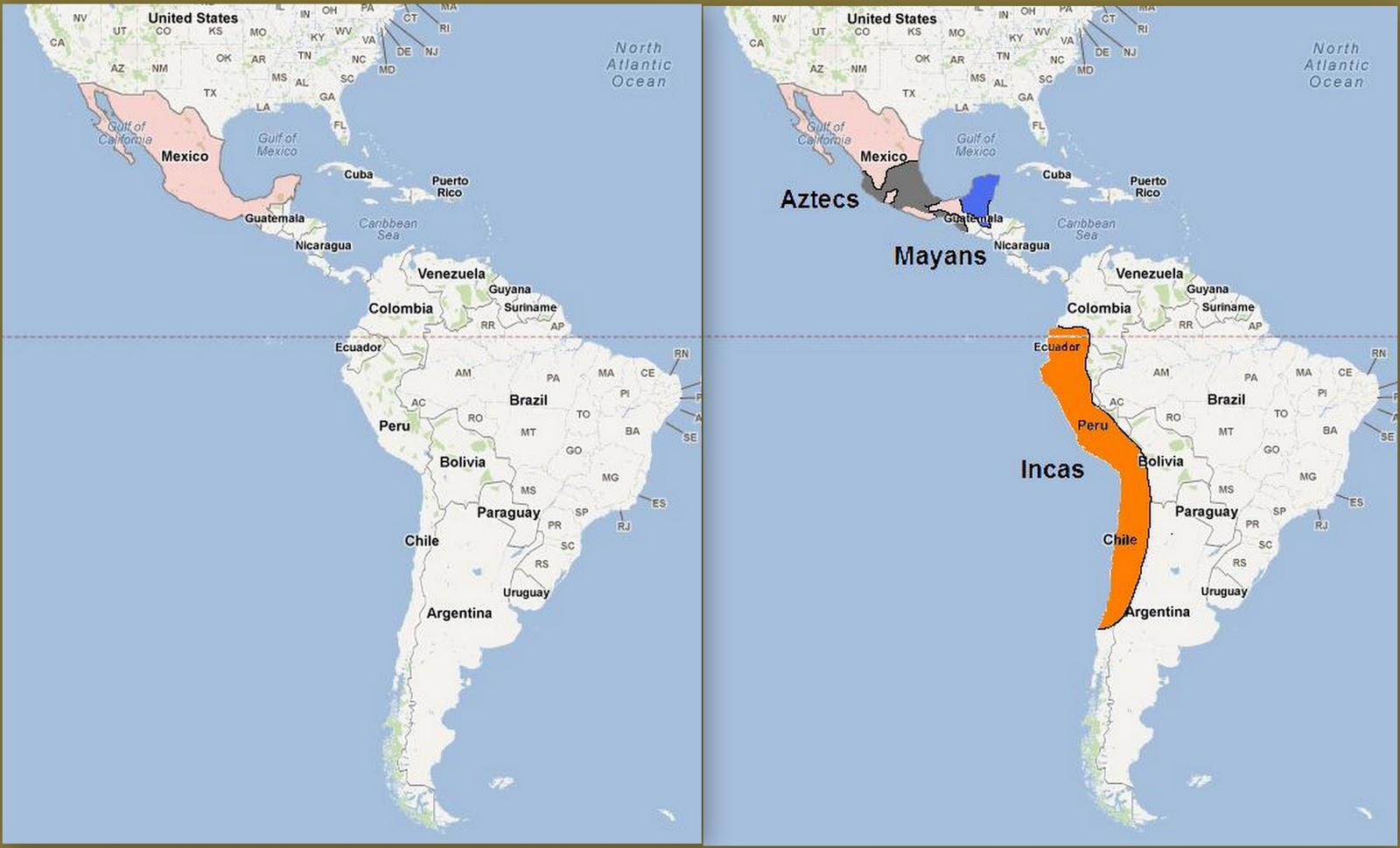 Ghulf Genes Ancient South American Cultures