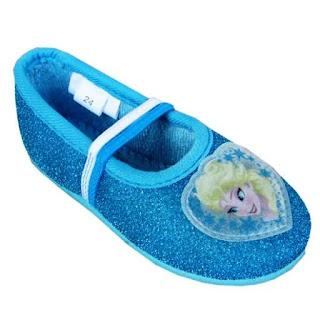 Sepatu Anak Perempuan Motif Frozen