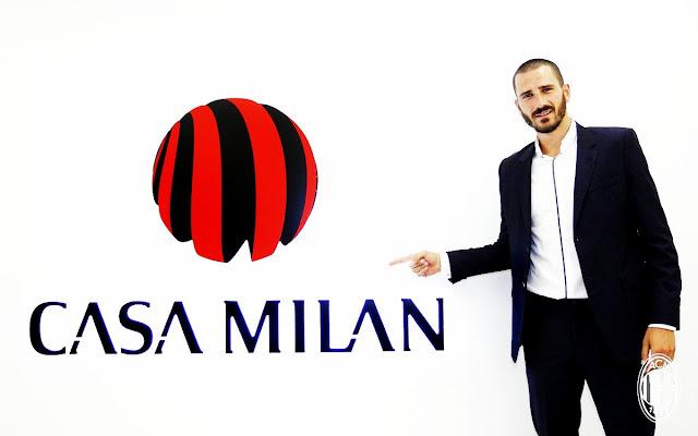 OFICIAL: Leonardo Bonucci é o novo reforço do Milan