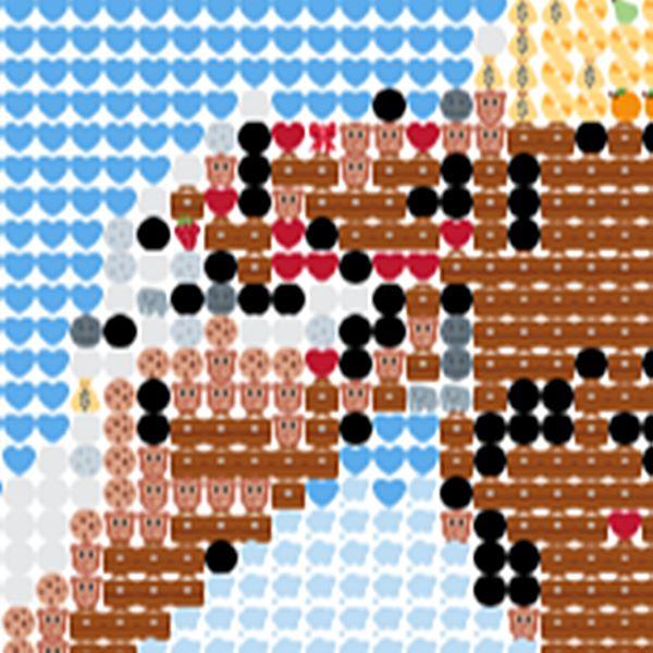 si on fait un zoom sur la photo transforme on pourra trouver les figurines emoji trs connu des fanatique de jeu japonais