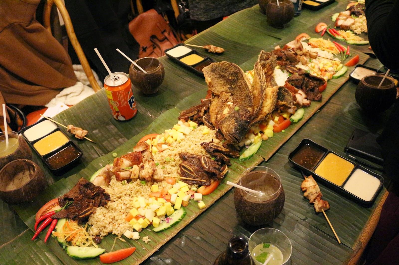 Kiki S B F F Casa Manila Kamayan Experience Philippine