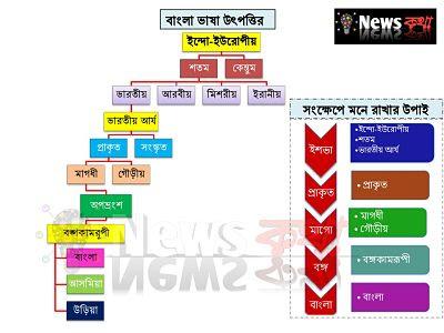 Bengali language history , origin of bangla bhasa , bangla bhasa itihas,how Bengali language came