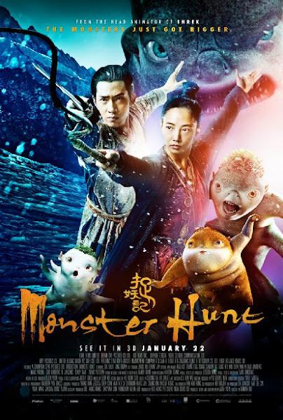 Poster Of Monster Hunt 2015 720p Hindi BRRip Dual Audio Full Movie Download