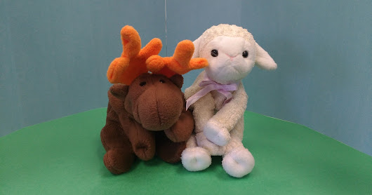 The Moose and the Lamb: Stuffies in the News