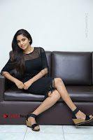 Telugu Actress Karunya Chowdary Latest Stills in Black Short Dress at Edo Prema Lokam Audio Launch .COM 0265.JPG