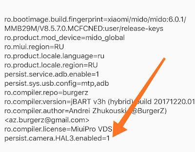 Cara Mengaktifkan Camera2 API Pada Xiaomi 4