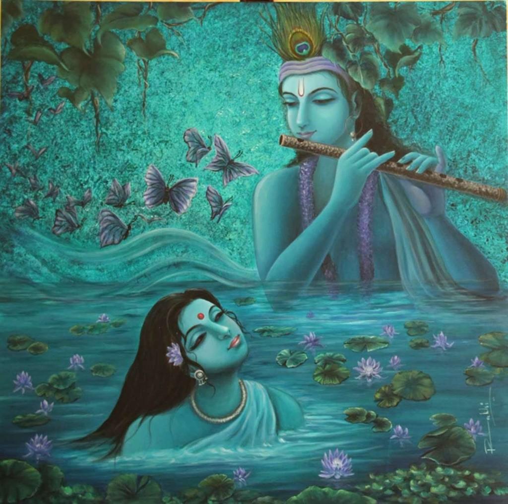 beautiful photo from the romantic gallery of radha krishna