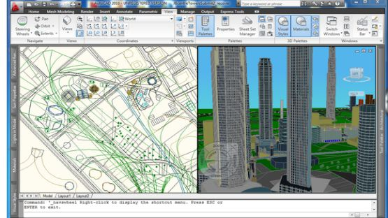AutoCAD 2010 screenshot 4
