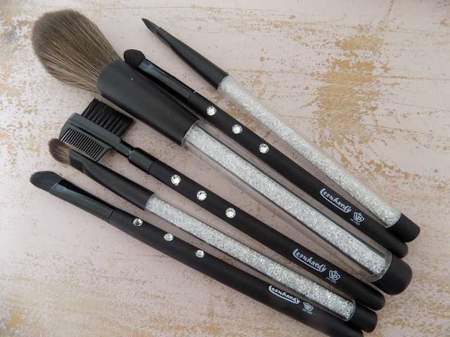 Swarovski Crystal Make up Brush Sets