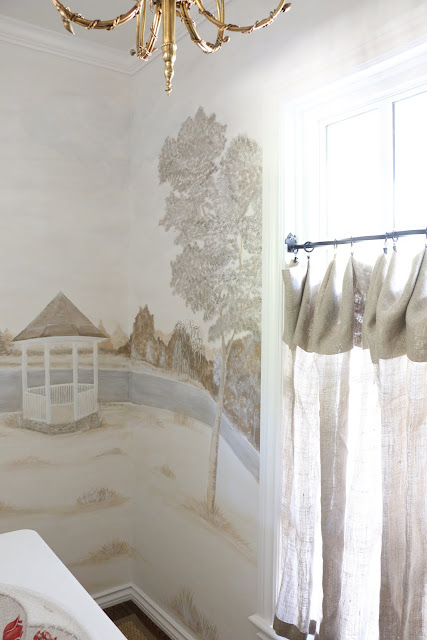 Simple Custom Belgium linen privacy curtains made by me
