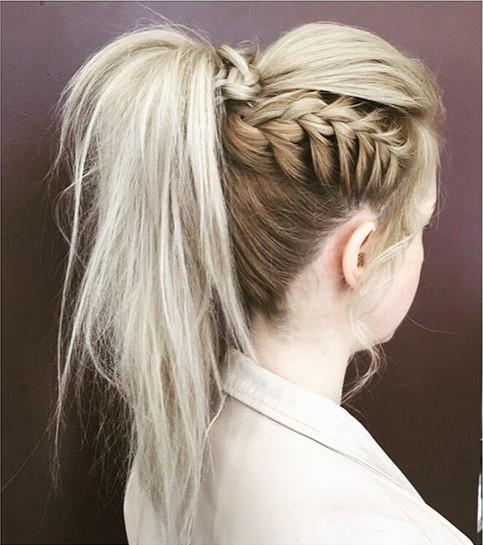 La moda en tu cabello peinados recogidos con trenzas 2017 - Peinados y trenzas ...