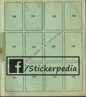 Hajduk Split album sličice Tempo 1938/39